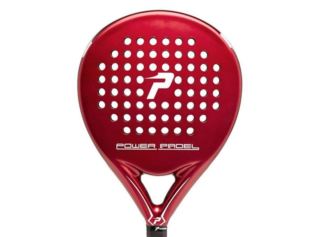 POWER PADEL 0516676 Pala Red Mate de Pádel, Blanco, S ...