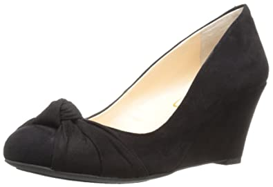 Jessica Simpson Donna Siennah Fabric Closed Toe Grey Wedge Gnocchi Grey Toe Size 6.0 e d9334e