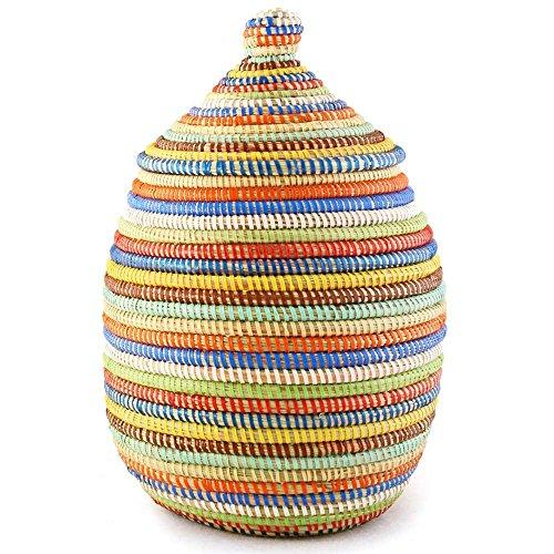 urd Basket - Rainbow (African Gourd)