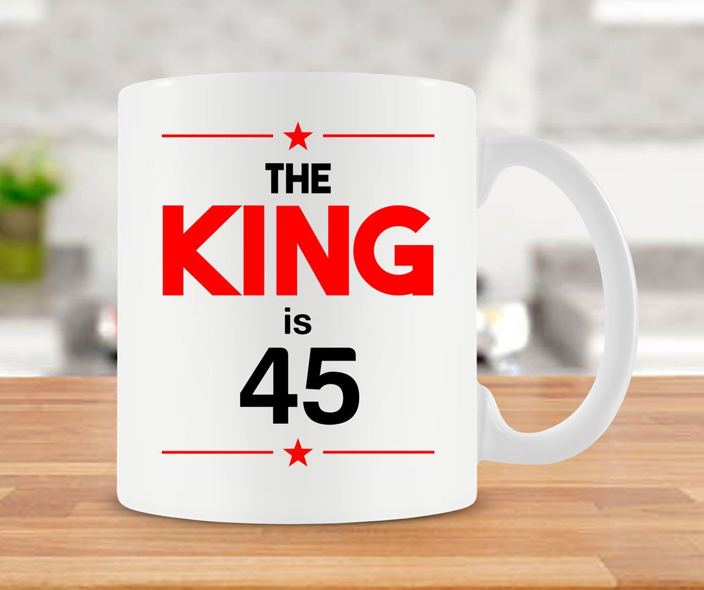 Amazon 45th Birthday Mug Bday Gift Ideas For Him Coffee Cup Dad 45 Years Old Ceramic