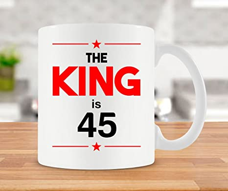 45th Birthday Mug Bday Gift Ideas For Him Coffee Cup Dad