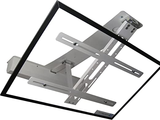 Support tv plafond rabattable excellent support plafond - Support tv escamotable ...