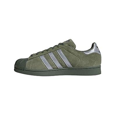 adidas Superstar Zapatillas Hombre Verde: Amazon.es: Zapatos y complementos