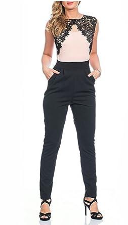 Online bestellen Mode-Design autorisierte Website Kendindza Premium Damen Overall Spitze 6029