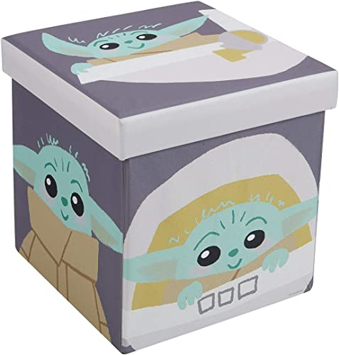 FHE Disney Star Wars Mandalorian The Child Kids Storage Ottoman Cube