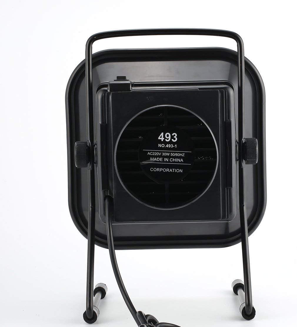 TAIKD 493 EU Saldatura a saldare regolabile Estrattore fumi Aspiratore fumi Filtro a carbone Ventilatore silenzioso per stazione di saldatura ESD Colore: Nero