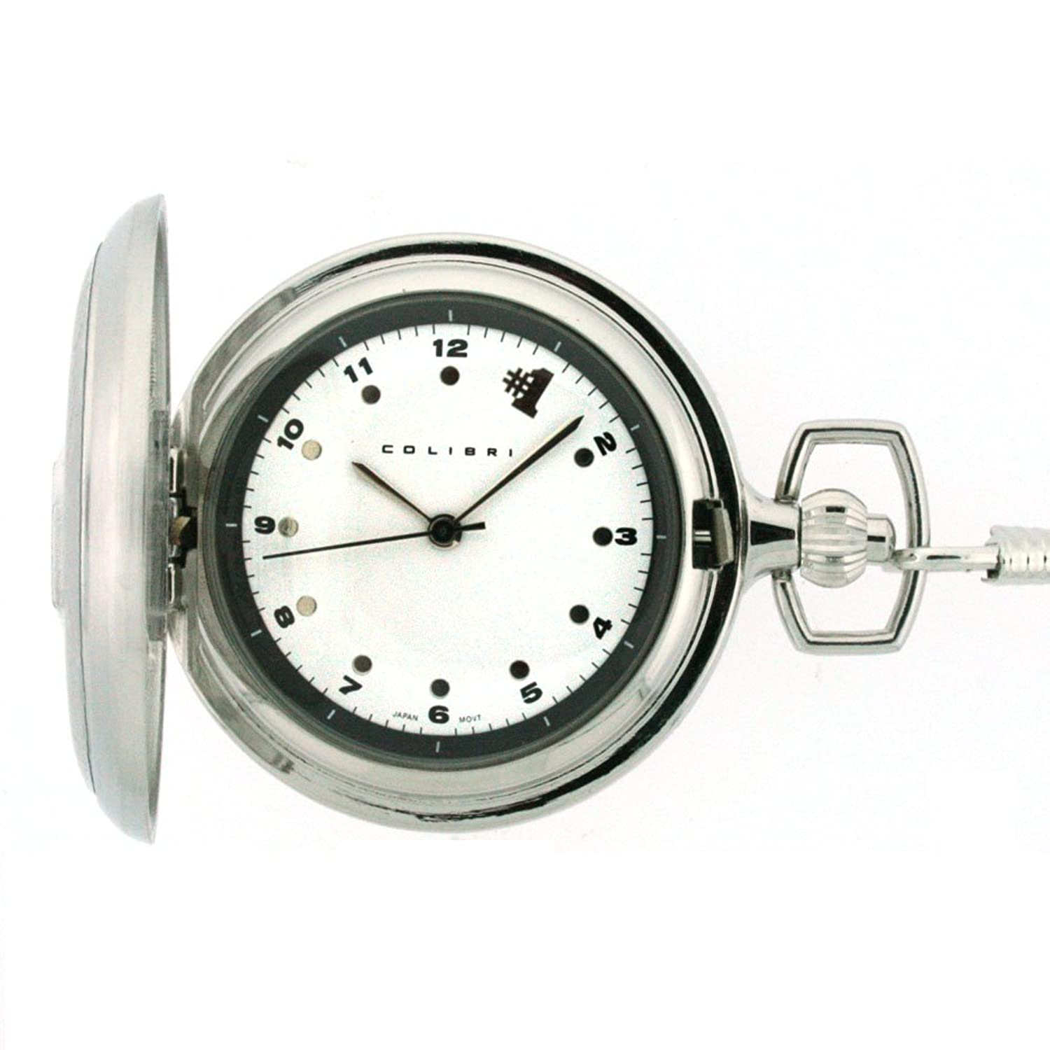 the image watches face eltham mechanical greenwich open chain pocket watch gold