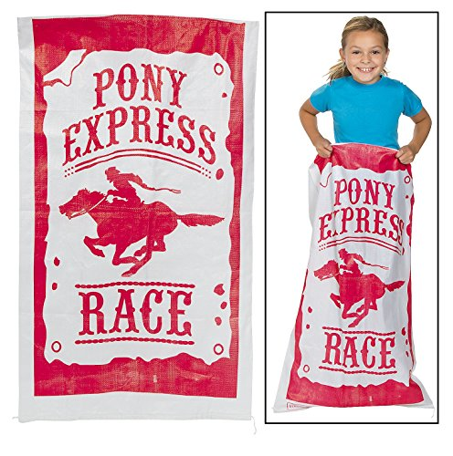 PONY EXPRESS Sack race bags - 6 pack