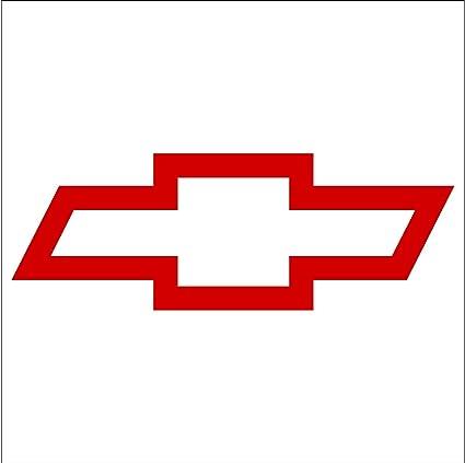 Amazon Crawford Graphix Bowtie Sticker For Chevrolet Chevy