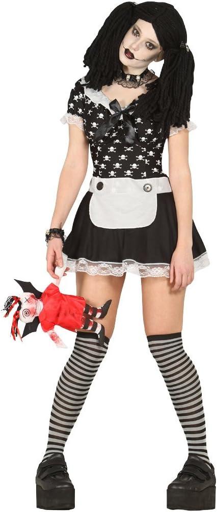 Disfraz de muñeca diabólica adulta: Amazon.es: Juguetes y juegos