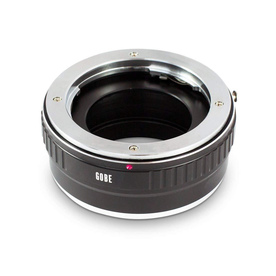 Bague dadaptation pour objectifs Compatible avec Les objectifs Olympus de Gamme Om et Les bo/îtiers Fujifilm de Gamme X Gobe