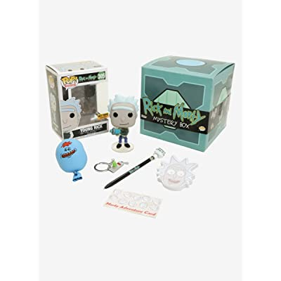 Funko POP! Young Rick Hot Topic Exclusive #305 Rick and Morty: Toys & Games