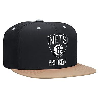 cheap for discount f771b 0322d NBA Mitchell   Ness Butter Nylon 2 Tone Strapback Hat (Brooklyn Nets)
