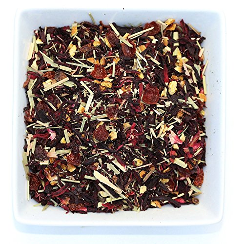 Tealyra - Hibiscus Heaven - Herbal Loose Leaf - Tea Blend - Vitamines Rich - Hot and Iced Tea - All Natural Ingredients - Caffeine-Free - 110g (4-ounce)