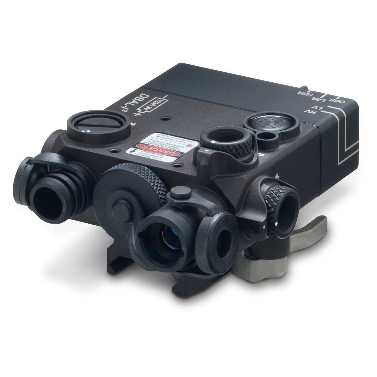 Steiner eOptics DBAL-I2 Dual Beam Aiming Laser Intelligent (Red Laser), Black