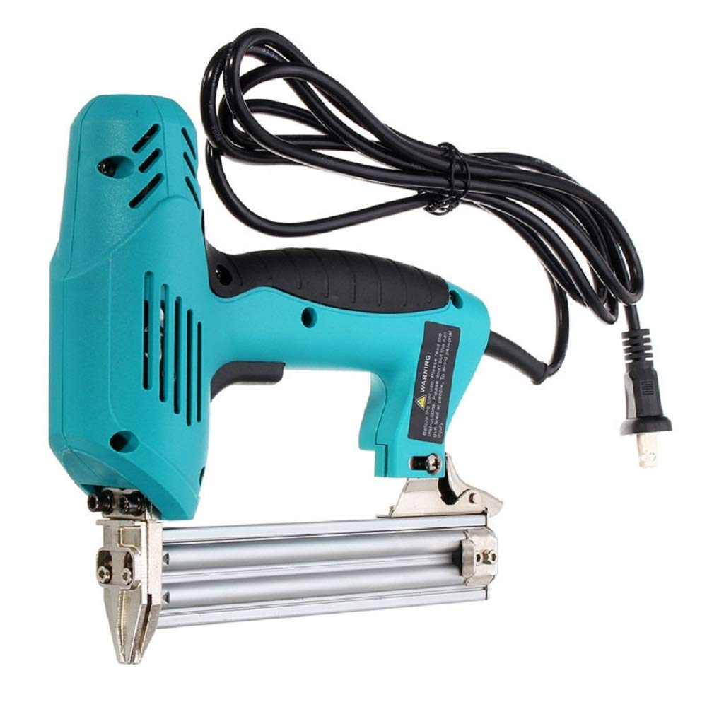 Staple Gun 220V 1800W Electric Straight Nail 10-30mm Special Use 30/min Woodworking Tool