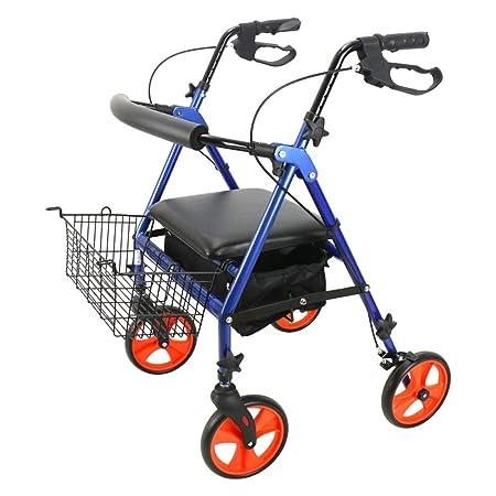 Jiamuxiangsi- Andador de Aluminio Marco para Caminar Old Man ...
