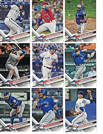 best sneakers 16400 b0afb Toronto Blue Jays / Complete 2017 Topps Series 1 & 2 ...