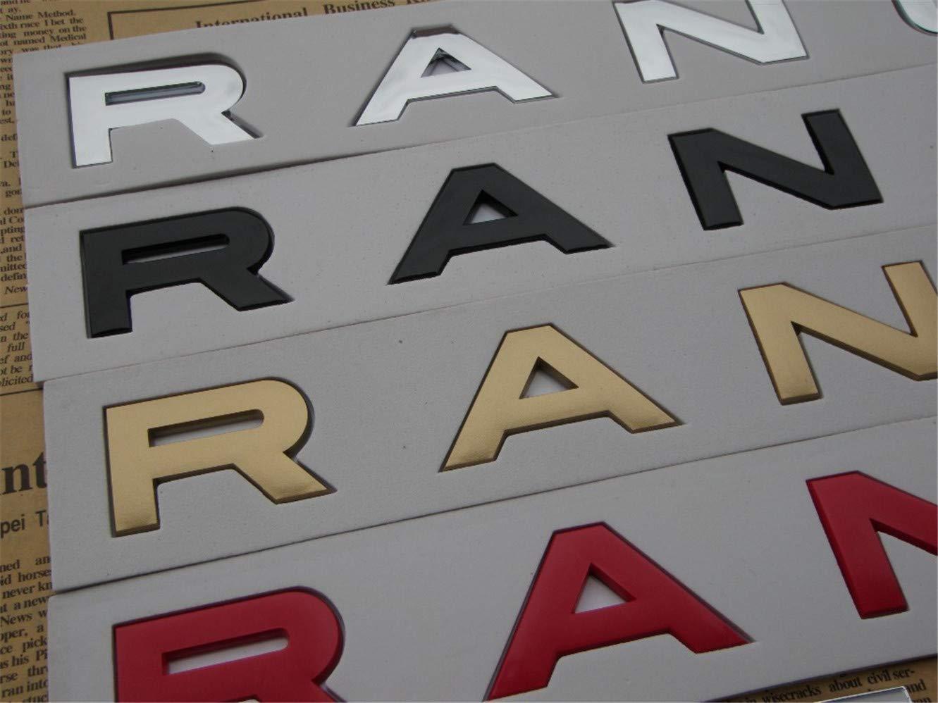 DGF HGF Number Letters Word Range Rover Car Boot Badge Emblems