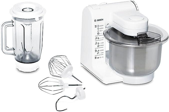 Bosch MUM4409 - Robot de cocina (Color blanco, Acero inoxidable, 50/60 Hz): Amazon.es: Hogar