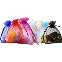 Anleolife Mix Color Organza Bag,Christams & Wedding Gift Bag,Jewlery Bag,candy bag, Gift packing Pouches