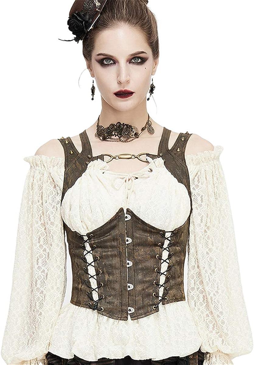 Burning Man Goddess Belt Steampunk Leather Belt Wench Belt Gothic Victorian Cirque Under Bust Harness Burlesque