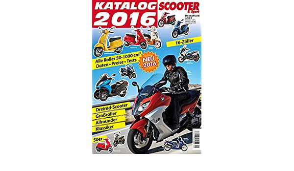 Amazon Com Scooter Katalog 2016 German Edition Ebook Reinhold