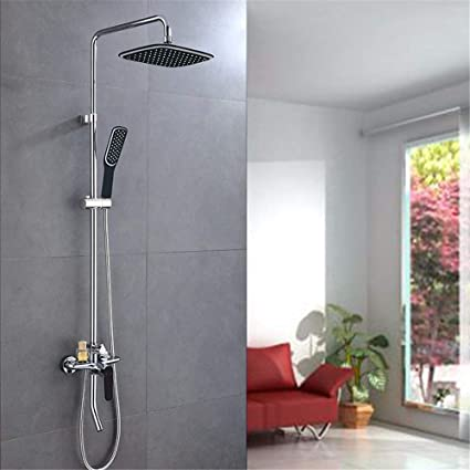 T Thsz Shower Set Copper Faucet Hot And Cold Shower Amazon In Electronics