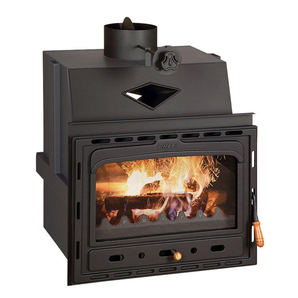 Combustión de madera chimenea Insertar Prity, Modelo C ...