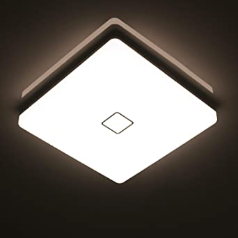 öuesen 24w Wasserdichte Led Lampe Decke Moderne Dünne Quadratische