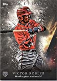 Baseball MLB 2018 Topps Inception #25 Victor Robles #25 NM Near Mint RC Rookie Nationals