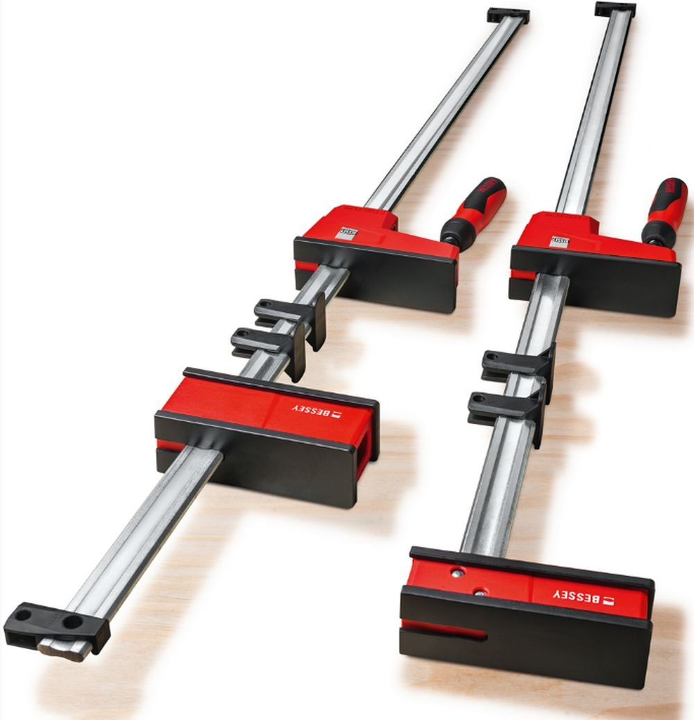 BESSEY KRE3518 PAIR 18'' K Body REVO Parallel Bar Clamp Now With Hex Key Clamping