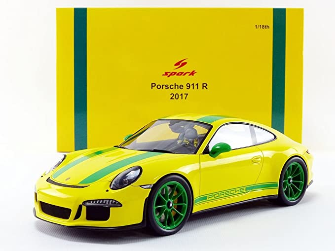Amazon.com: Spark (Spark) 1/18 Porsche 991 R 2016 [18S259] Japan used very good: Toys & Games
