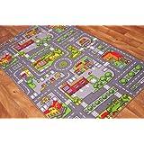 Tapis de jeu enfant - Ville, Rues, Circuit de Route - 4 Tailles disponibles