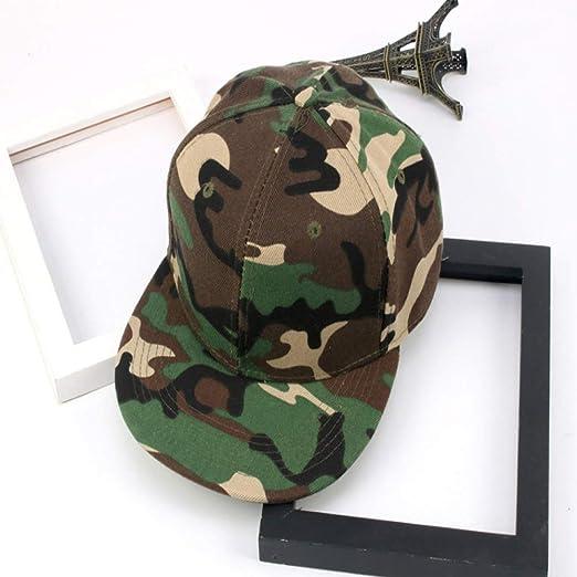 zhuzhuwen Sombrero Soldado Masculino Exterior Camuflaje Gorra de ...