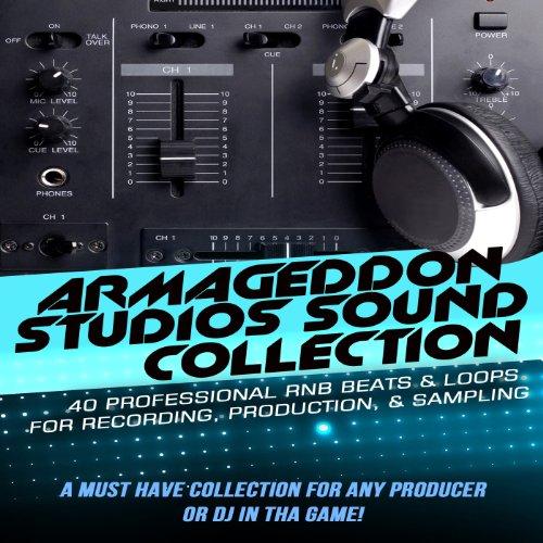 Rnb Audio Loops - Armageddon Studios Sound Collection - 40 Professional RNB Beats & Loops