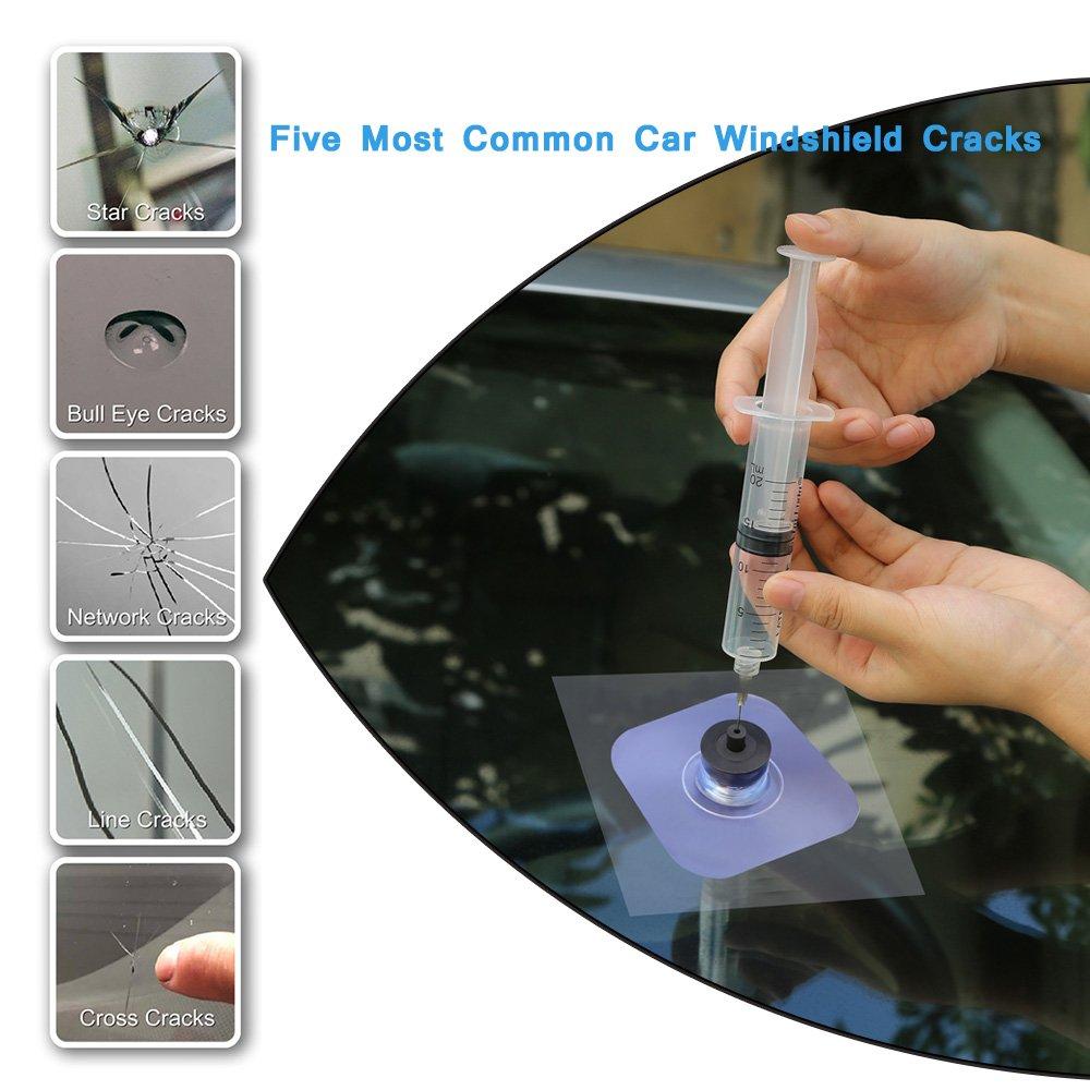 Daphot Store - Car Windshield Repair Kit tools Auto Glass resin permeation repair Crack Restore Window Screen Polishing Car-Styling by Daphot Store (Image #3)