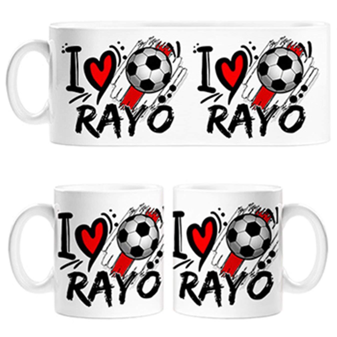 Diver Tazas Taza I Love Rayo fútbol - Cerámica: Amazon.es: Hogar