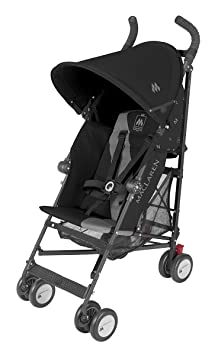 Amazon.com : Maclaren Triumph Stroller, Black/Charcoal : Umbrella ...