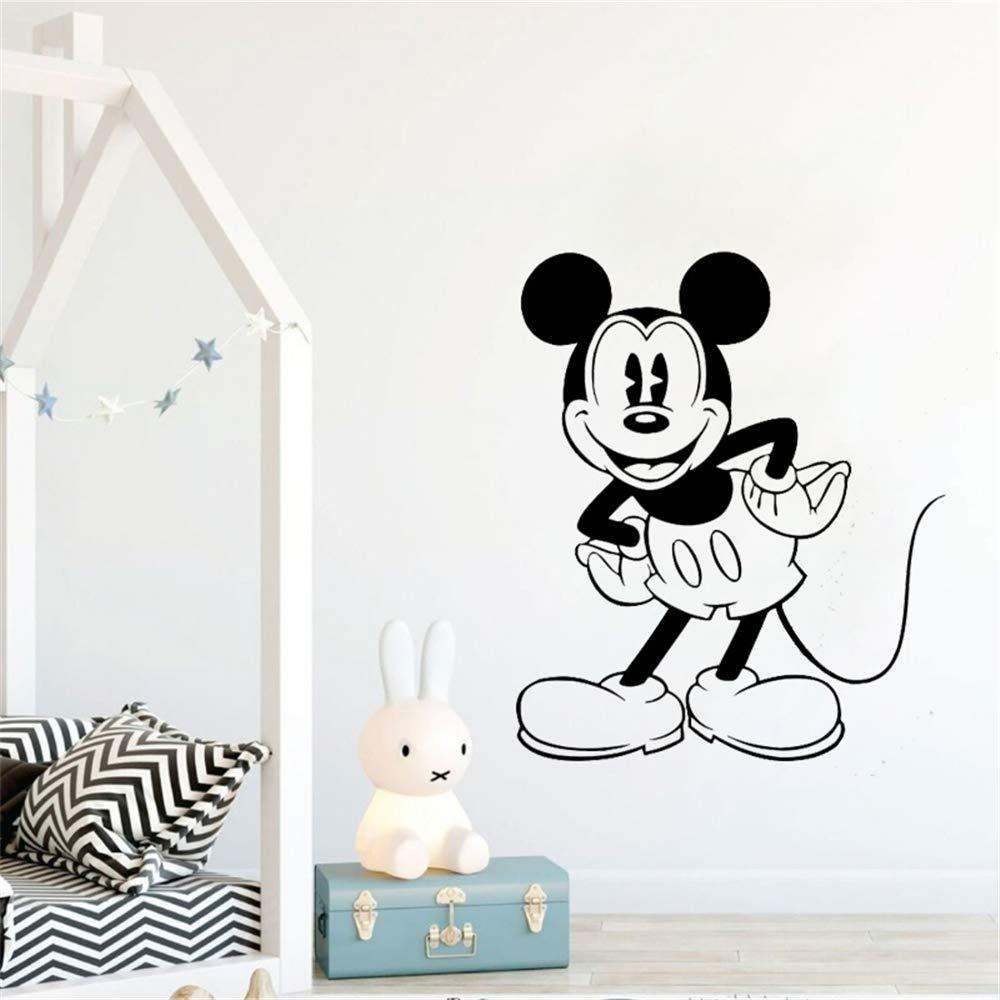 pegatinas decorativas pared Mickey Mouse Etiqueta de La Pared ...