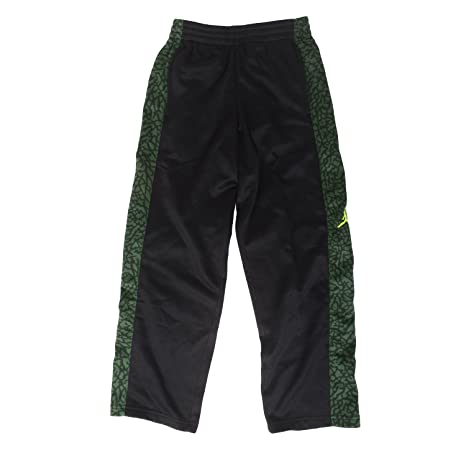 6f176bbdd673b1 Image Unavailable. Image not available for. Color  Jordan Big Boys Therma- Fit Basketball Pants - Black ...
