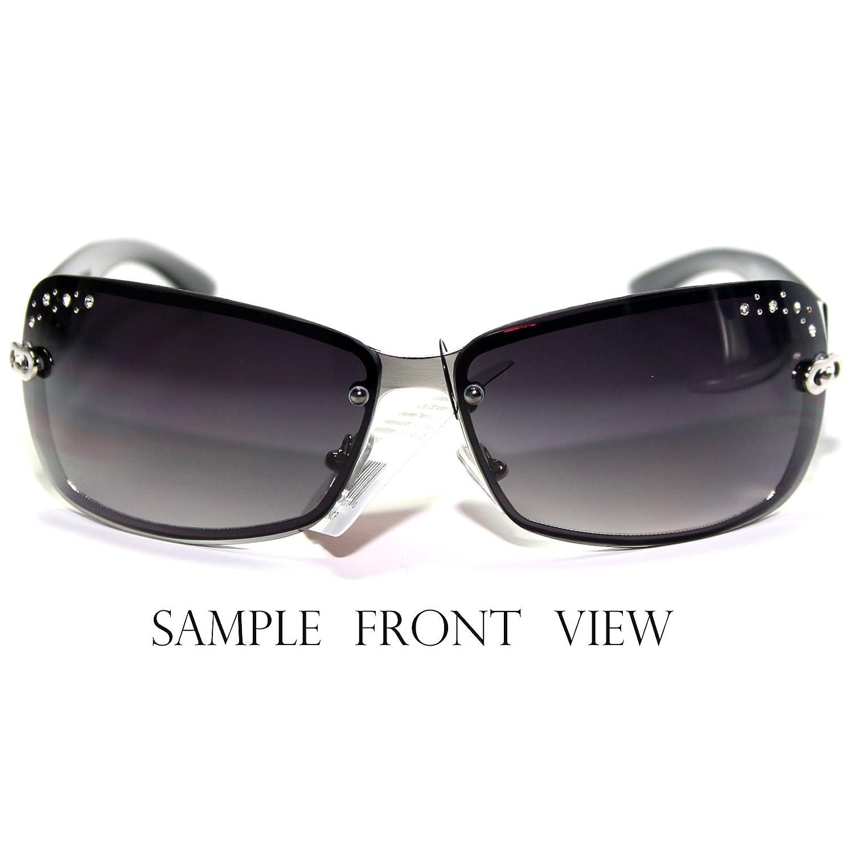 #CC10-S3 CHARM Eyewear Elegant Rhinestone Accents Womens Sunglasses