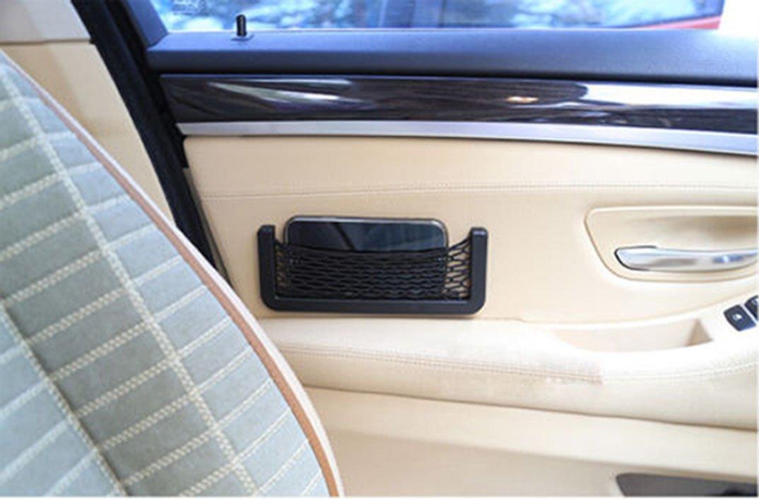 SAUTOP Auto Car SUV Filet de Rangement Resilient Corde Sac Organiser t/él/éphone GPS Carte de pi/èces de Monnaie
