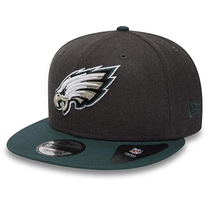 New Era NFL Heather 9fifty Phieag Gorra, Hombre, dk Grey, M/L ...