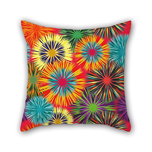 - Pillowcase 18 X 18 Inches / 45 By 45 Cm(twin Sides) Nice Choice For Lounge Dance Room Deck Chair Saloon Bar Chair Flower