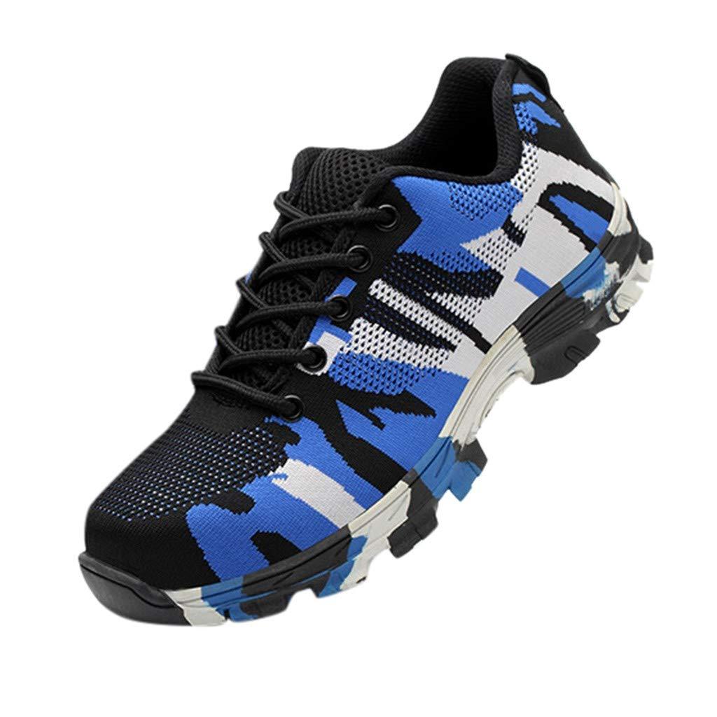 Respctful✿Men Sneakers 2019 Casual Lightweight Athletic Tennis Walking Running Shoes Blue