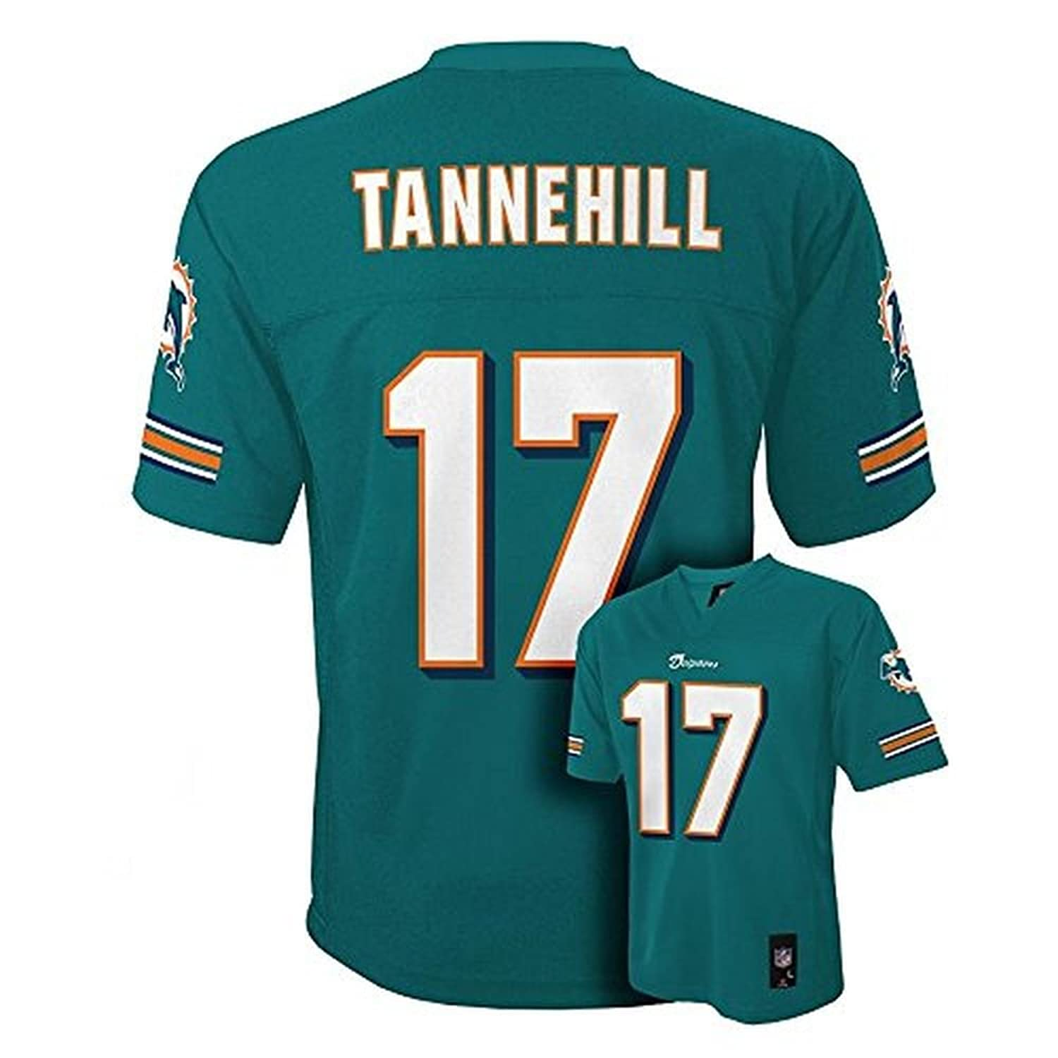 Amazon.com  Ryan Tannehill Miami Dolphins Aqua NFL Youth 2013-14 Season  Mid-tier Jersey (Medium 10 12)  Clothing 93d85899f89b