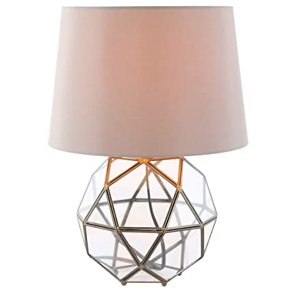Exceptionnel 16.5u0026quot;H Metal And Glass Orb Table Lamp