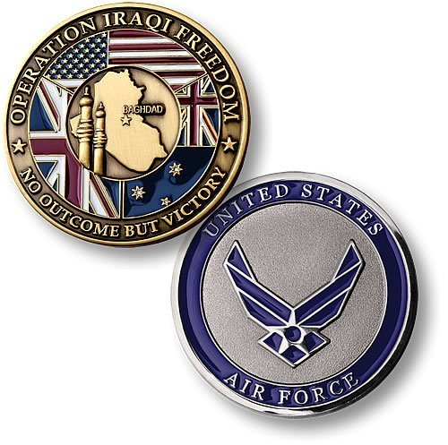 Operation Iraqi Freedom - Air Force Bronze Antique Air Force Operation