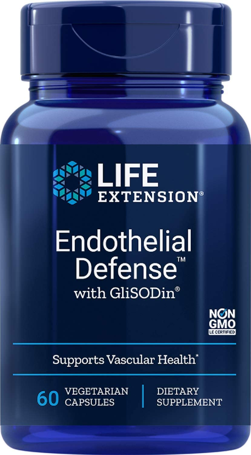 Life Extension Endothelial Defense with Glisodin 60 Vegetarian Capsules